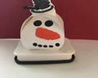 Happy Snowman Party Favor Boxes-12