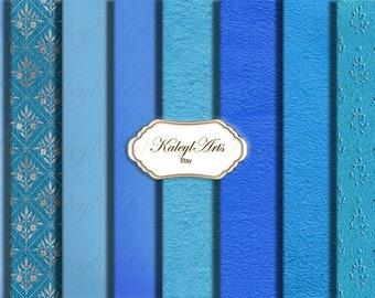 Stationery, scrapbook paper, printable, roses, blue, shabby chic, vintage, background, digital paper, craft, paper, magazine, album