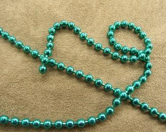 Metal chain - 0.35 cm - Green