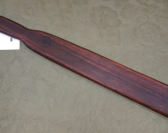 Macassar Ebony Rare Miss Rose Paddles Spanking Paddle BOE Flare ME071