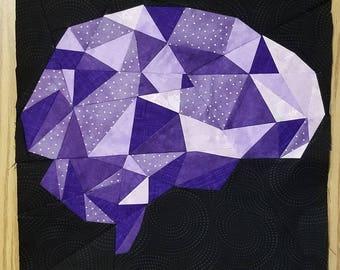 Brain Foundation Paper Piecing Pattern