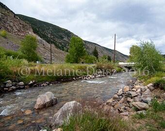 Clear Creek, Rocky Mountains, Georgetown, Colorado