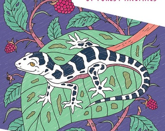 The Secret Life of Forest Animals - Coloring Book in PDF Format