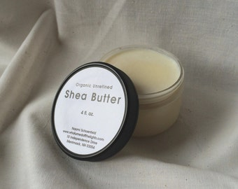 Organic Shea Butter (2 or 4 oz.) - Unrefined