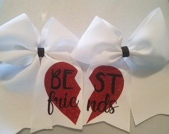 Best Friend Bows / Cheer Bow / Softball / Soccer / Volleyball