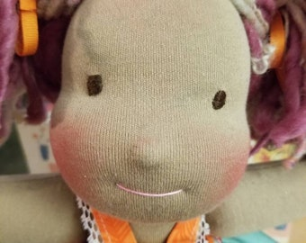 12 inch traditional Waldorf inspired doll