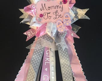 Mommy to Be Baby Shower Ribbon