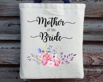 Wedding Tote, Mother of the Bride Tote, Wedding Bag, Mother of the Bride Gift, Wedding Bag