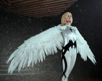 Made to order: white wings cosplay and other