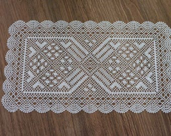 Rectangle 1 lace doily