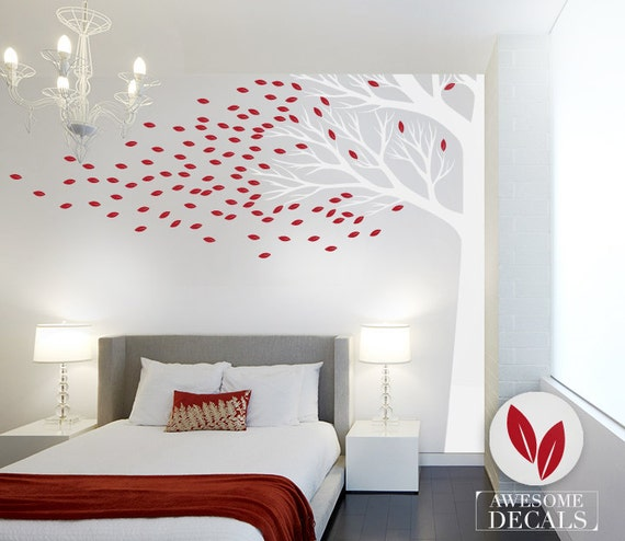 Good Corner Tree Wall Decal Large Wall Decal Custom Wall Art