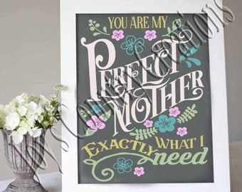 You are my Perfect Mother, SVG, PNG, JPEG