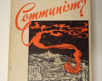 Must it be Communism? Augustine J. Osgniach Hardcover 1950 Wagner Book