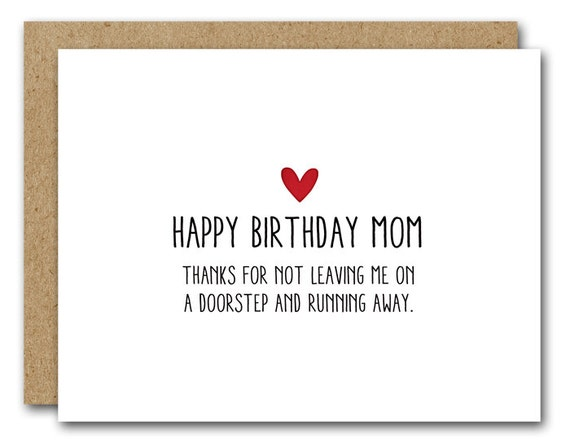 Breathtaking image inside printable birthday cards for mom funny