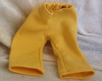 Vintage Yellow Doll Pants