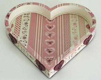 """Vide-poches """"Coeur romantique"""""""