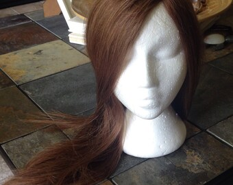 Human hair topper, quality hair, mono,  large coverage