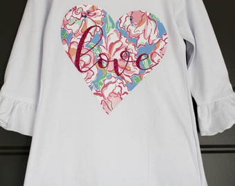 Lilly Inspired Heart Dress