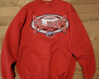 Vintage St. John's Redstorm Sweater
