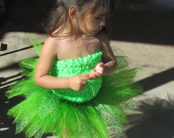 Luck of the Irish Specialty Green Tutu Skirt Great for marathons!