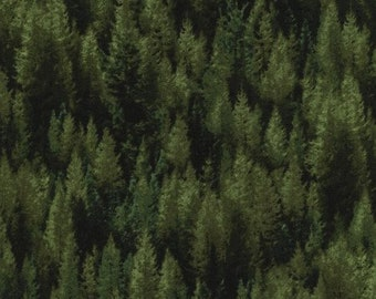 JN-C2905 PINE RECLAIMED West, Quilt Fabric, Pine Trees, Judy Niemeyer, Timeless Treasures,  Evergreen Trees, Forest, Sewing Material