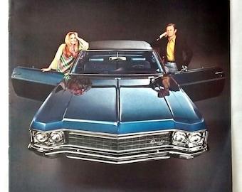 1970 Chevrolet Sales Advertising Brochure, Caprice, Impala, Bel Air, Car, Advertising, Auto, Dealer, Sales