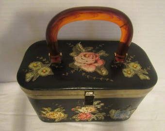 Vintage Lily Bet Black Purse