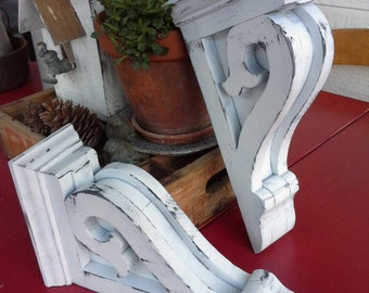 Corbels -(H) set of 2, Vintage look,  new and reclaimed wood
