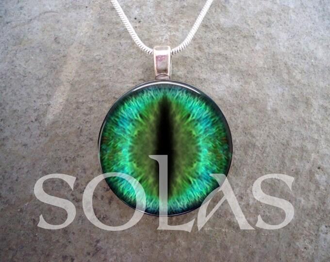 Dragon Eye Jewelry - Glass Pendant Necklace - Dragon Eye 48