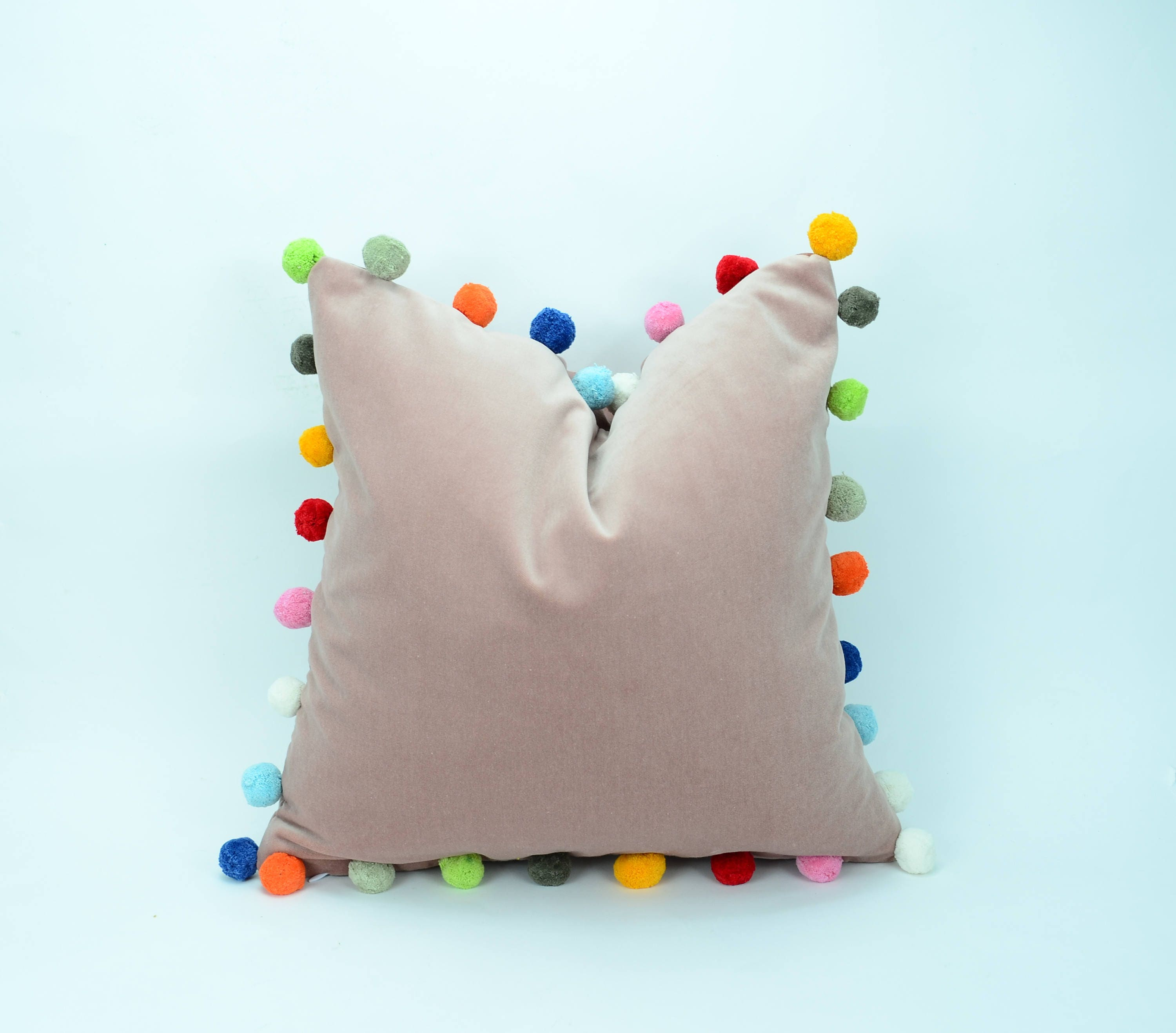 projects pillow pom diy instructions