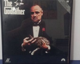 Framed - The Godfather - Laserdisc - Circa 1990 - Wall Art!
