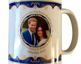 Prince Harry & Meghan Markle Royal Wedding 19th May 2018 -  Mug