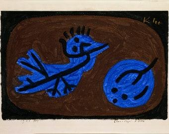 Paul Klee: Blue Bird Pumpkin. Fine Art Print/Poster (5013)
