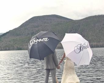 Custom Painted Rain/Waterproof Umbrellas
