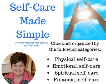 Self Care Checklist, Self-care ideas, self help, self development, self care tips, best self care tips, DIGITAL DOWNLOAD PDF