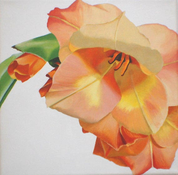 Awesome il 570xN 7y29 Contemporary - Model Of orange flower painting Trending