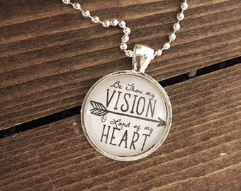 Be Thou My Vision Pendant Necklace