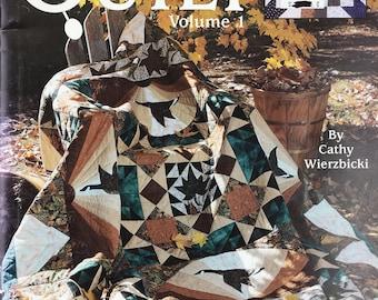 Leisure Arts Take Time to Quilt Volume 1 Cathy Wierzbicki 6 Designs 2002