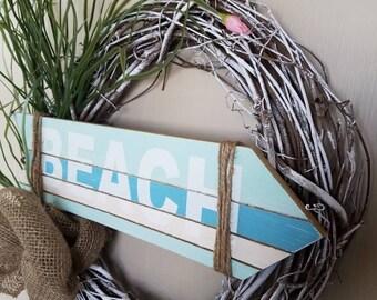 Beach Wreath - Grass Beach Wreath - Weathered Beach Wreath - Summer Wreath