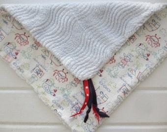 Pirate Pig - Infant Security Comfort Blanket
