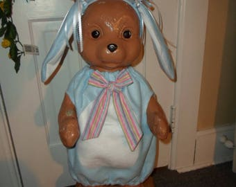 Concrete Bear Clothes ---Blue Lop Ear Bunny