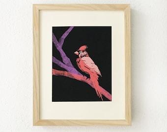 Cardinal bird, Cardinal bird art, Cardinal bird gifts, Cardinal art, Cardinal gifts, Cardinal home decor, Bird lover gift, Cardinal