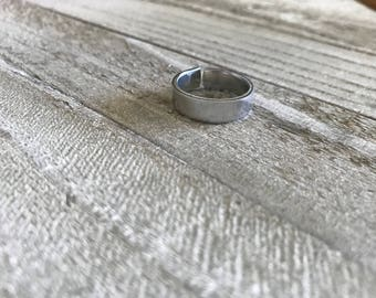 Personalized Adjustable Aluminum Ring