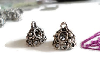 Indian ethnic charms antique silver metal p02 2