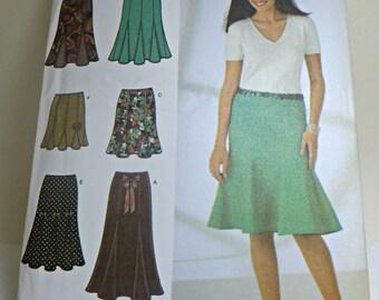 Simplicity 4365 - skirt - Size  6, 8, 10, 12, 14 - Uncut
