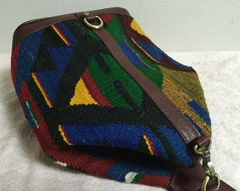 20% OFF FREE Shipping, 2way Kilim bag, Boho chic bag, Backpack, Shoulder bag, Killimbag