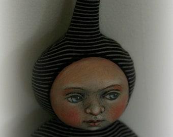 Coco Original Artist OOAK Cloth Doll