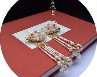 Handmade hair clip,Antlers hair clip,wedding hair clip,bride hair clip,gift for women,gift for girlfriend,wedding accessories