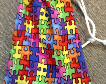 Autism Awareness spinner or treasure bag