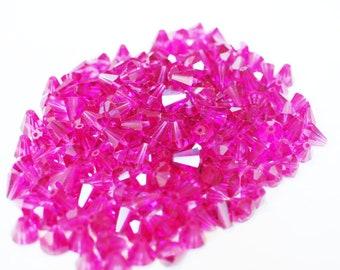 Magenta purple diamond 0.7 mm Swarovski Crystal